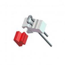 Аттачменты внекоронковые подвесные Miniancor, 2 патрицы (сталь) + 2 матрицы (пластик)