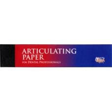 Артикуляционная бумага сверх экстра тонкая синяя, 32 мкм