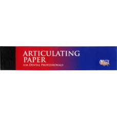 Артикуляционная бумага тонкая синяя, 71 мкм