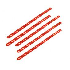 Восковые ретенции с круглыми отверстиями тонкие (арт.903/1)