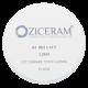 Заготовка для CAD/CAM из диоксида циркония Ziceram T (прозрачная) совместимая с ZirkonZahn, высота в ассортименте