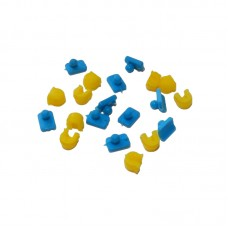 Аттачменты универсальные шаровидные d 1,7мм (набор: 10 патриц + 10 матриц)